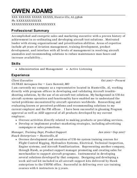 Magnificent Aircraft Management Resume Images - Resume Ideas ...
