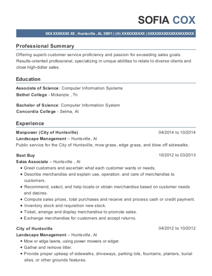 Best Best Buy Resumes | ResumeHelp
