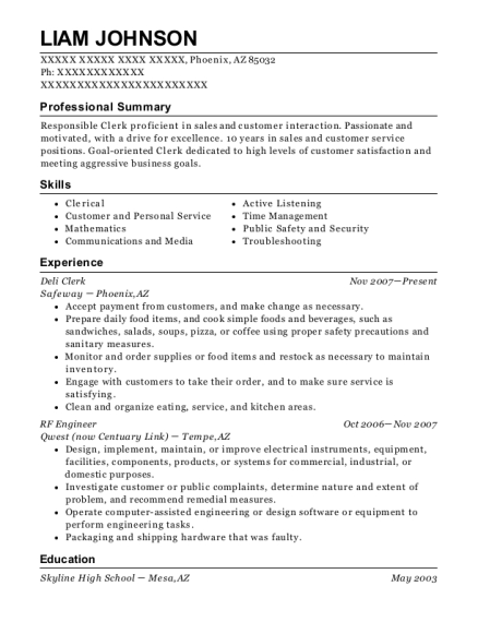 Liam Johnson  Rf Engineer Resume