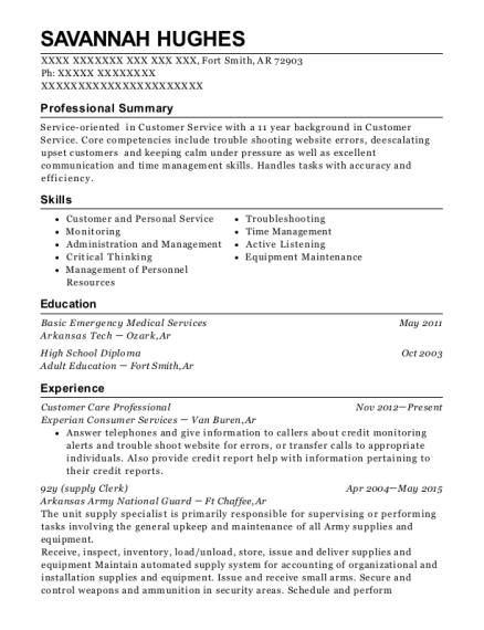 Red Cross Disaster Relief Resume Sample - Flower Mound Texas ...