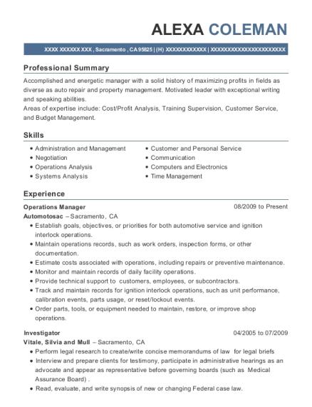 View Resume