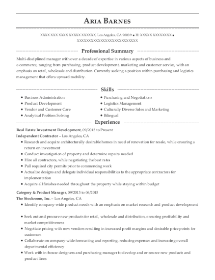 Best Category & Product Manager Resumes | ResumeHelp