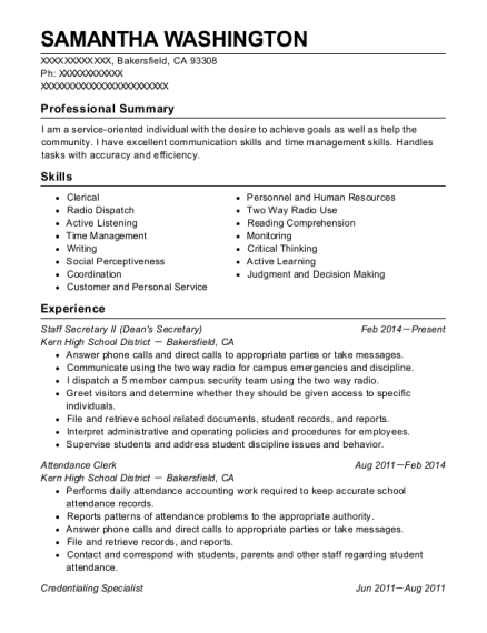 best credentialing specialist resumes