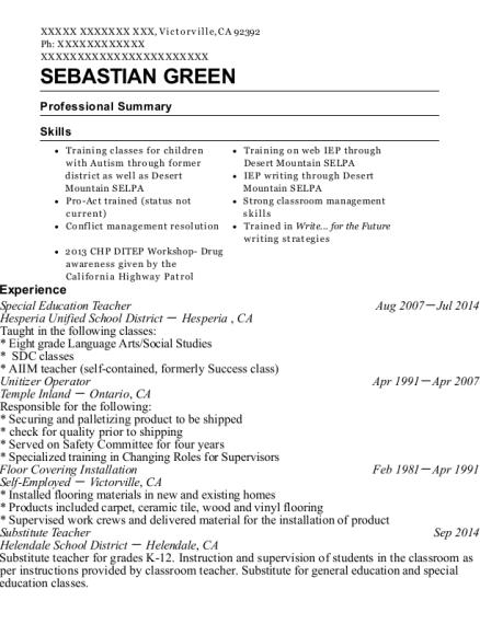 Marvelous Sebastian Green