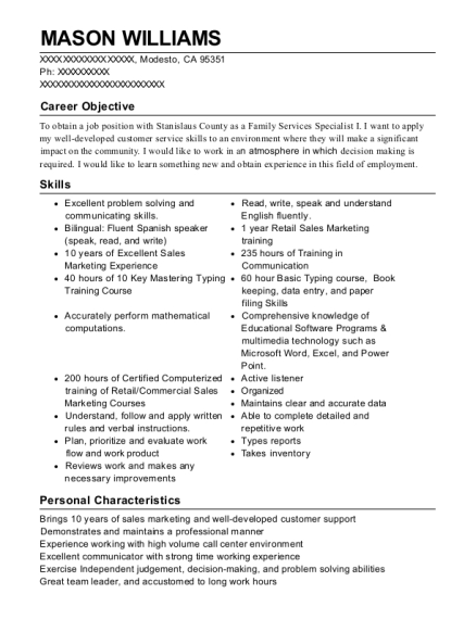 translater resume
