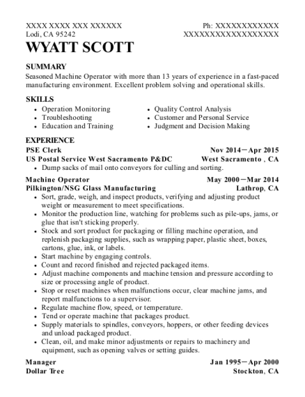 united state postal service pse clerk resume sample