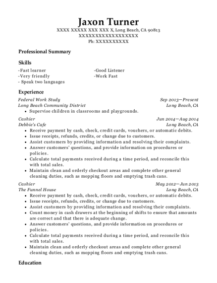 seminole state college of florida federal work study resume sample