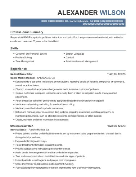 best rda resumes resumehelp