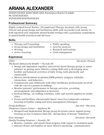 Facilitator Resume Nmdnconference Com Example Resume And Cover