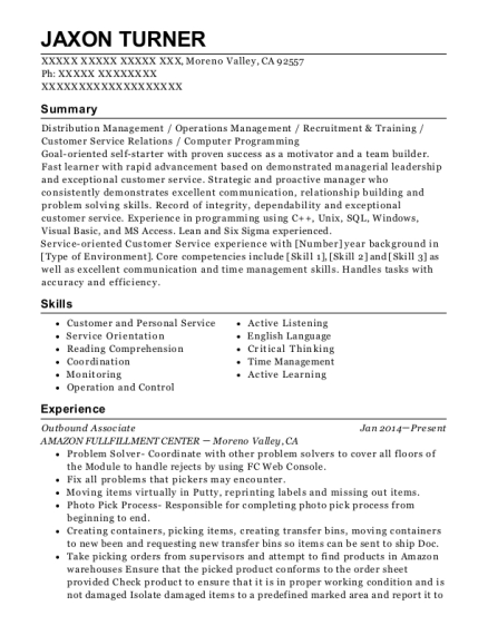 manufacturing technician resumes