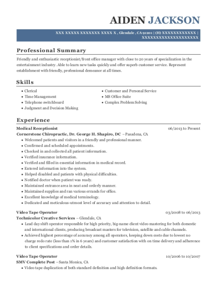 Resume Services Albuquerque
