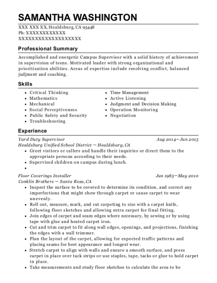 Charming View Resume