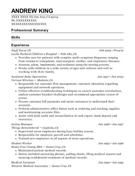Best Acting Manager Resumes | ResumeHelp