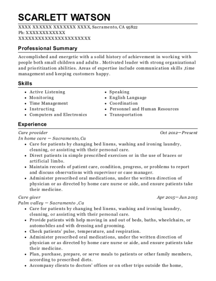 Best After School Program Leader Resumes ResumeHelp