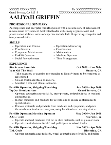 stockroom associate resume images resume format examples 2018