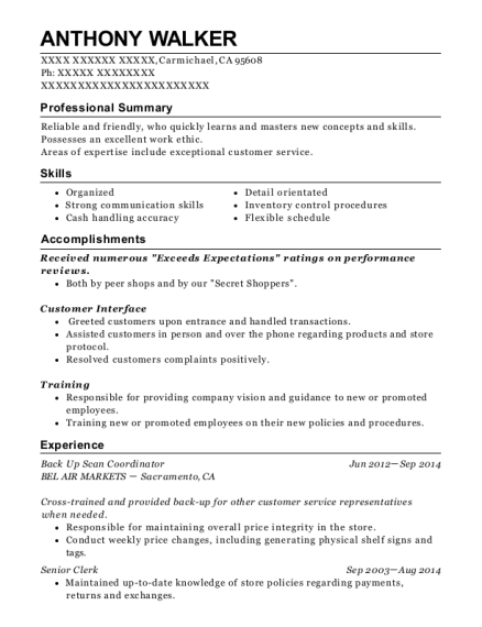 ... General Merchandising Clerk. Customize Resume · View Resume