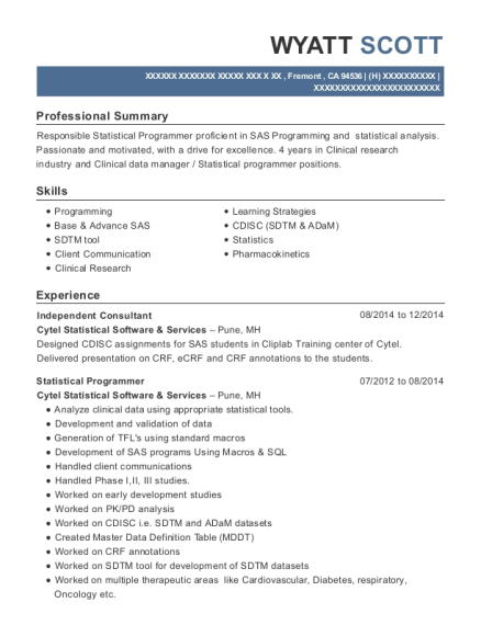 Best Clinical Data Manager Resumes | ResumeHelp