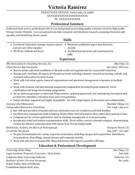 Best Corporate Paralegal Resumes | ResumeHelp