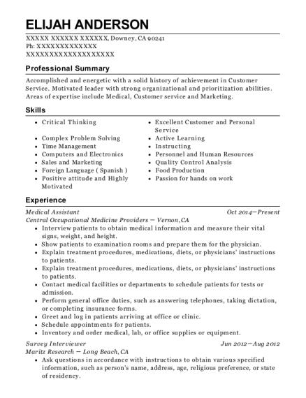 interviewer resumes