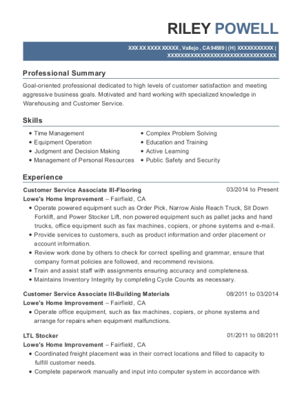 people also search for customize resume view resume customer service associate - Lowe Customer Service Associate Sample Resume