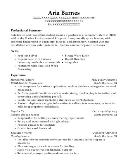best physics ta resumes resumehelp