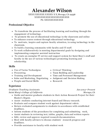 computer consultant resumes
