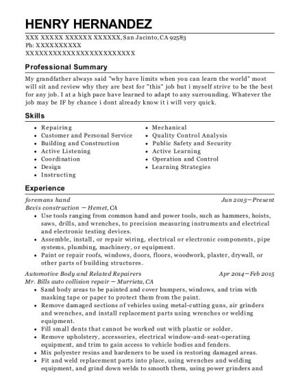 Best Labor Ready Resumes | ResumeHelp