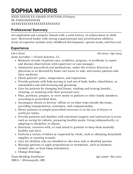 Best Team Building Facilitator Resumes | ResumeHelp