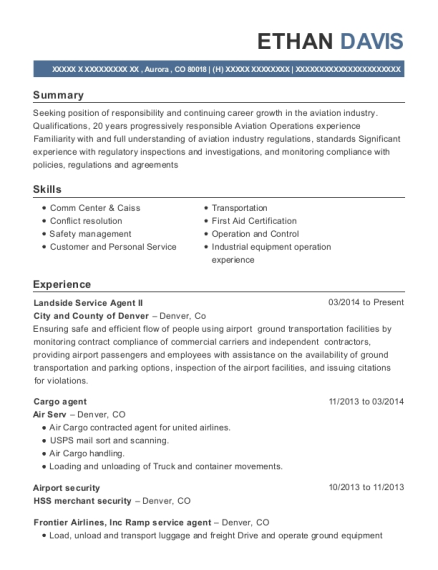 Cargo Agent , Stock Clerks. Customize Resume · View Resume