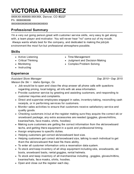 Best Manager Resumes in Denver Colorado | ResumeHelp