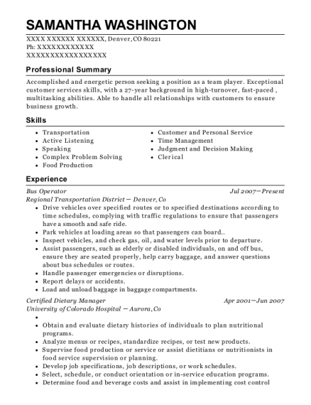 certified dietary manager sample resume certified dietary manager