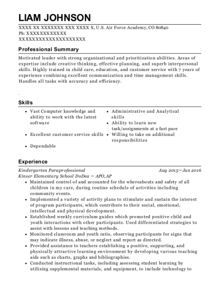 view resume - Program Assistant Resume