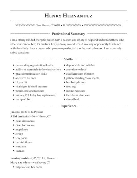 henry hernandez - Appointment Setter Resume Sample