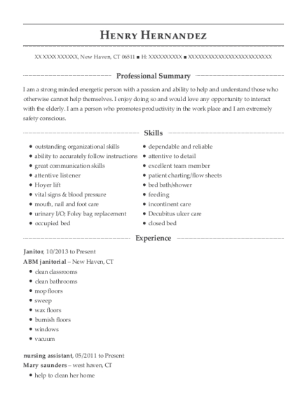 henry hernandez - Appointment Setter Resume