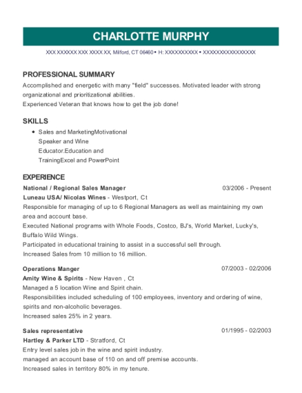 best national regional sales manager resumes resumehelp - Regional Sales Manager Resume