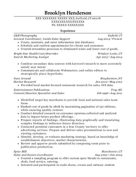 Connecticut resume help