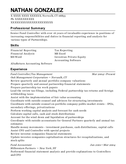 Best Fund Accountant Resumes | ResumeHelp