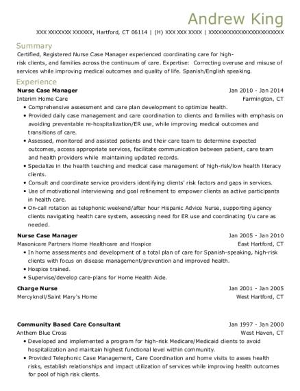 Best Geriatric Health Nurse Resumes | ResumeHelp