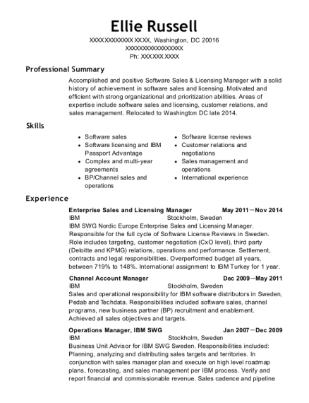 Best Channel Account Manager Resumes | ResumeHelp