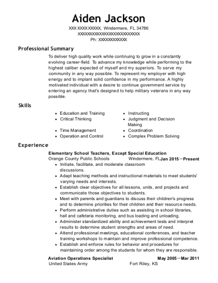 Exceptional Perfect View Resume