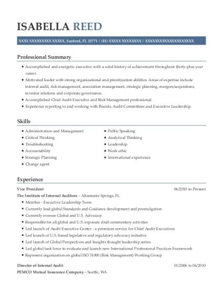 individual advisory services senior manager resume sample