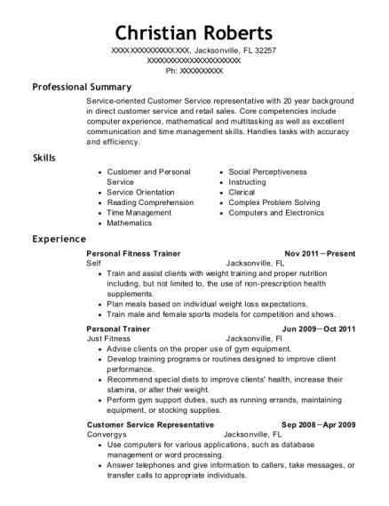 Resume Samples Attendant Resumesgym Attendant