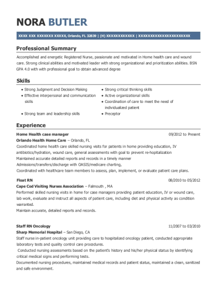 Yale New Haven Hospital Float Rn Resume Sample - Stamford ...