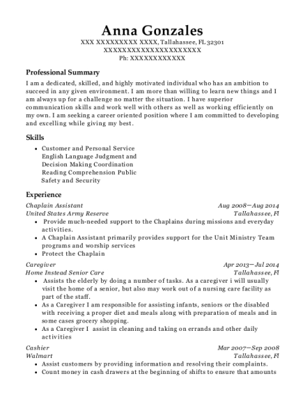 Fine Chaplain Assistant Resume Images - Wordpress Themes Ideas ...