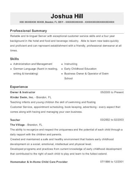 swim instructor resume professional swim instructor templates to
