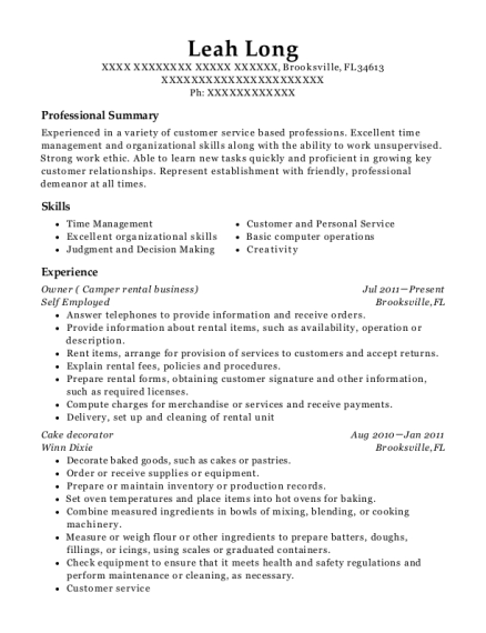 Best Licensed Home Daycare Provider Resumes