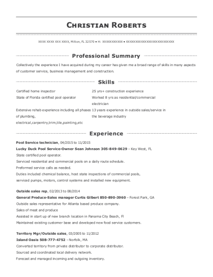 view resume - Outside Sales Resume