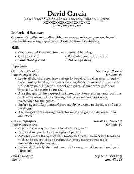 dining room attendant resume cover letter exles