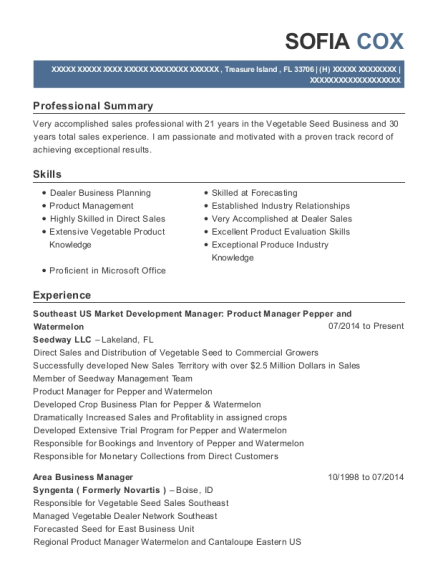 Best Area Business Manager Resumes | ResumeHelp