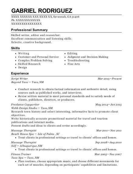 best freelance copywriter resumes resumehelp
